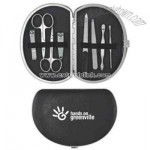 Deluxe 9 piece travel manicure set