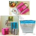 Deluxe Cooler Insulated Nylon Tote Bag