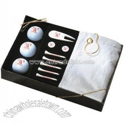 Deluxe Golfers Gift Box