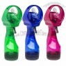 Deluxe Hand Held Personal Battery Operated Misting Fan