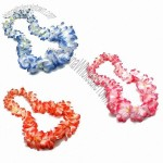 Deluxe Jumbo Two-Tone Flower Lei