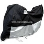 Deluxe Motorcycle Cover with Anti-Theft & Wind Design
