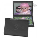 Deluxe bonded leather photo album with stitched padded leather cover