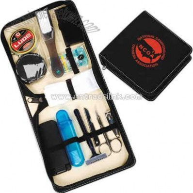 Deluxe shoe shine / travel kit