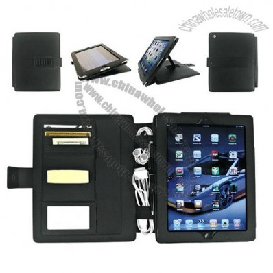 Designer Leather Case for iPad2 / iPad Holder