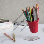 Desk Bucket Pen Holder