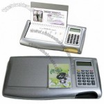 Desk Calendar With Calculator and Memo
