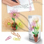 Desk Daisy Paper Clip Dispenser