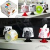 Desk Table Lamp Shaped Tissue Box