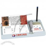 Desk Week Calendar with Memo and Pen & Name Card Holder