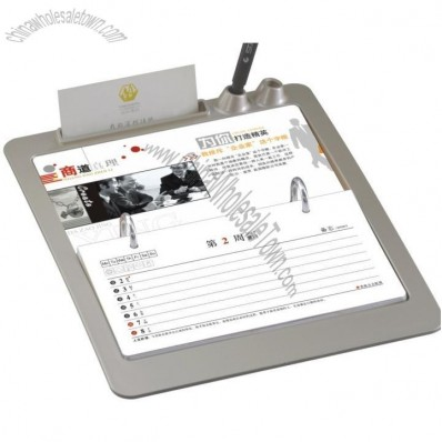 Desk Week Calendar with Name Card and Pen Holder