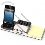 Desktop Smart Phone Holder wih Stationery Organizer, Memory card reader, USB HUB, Memo
