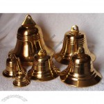 Dia 7'',6'',5'',4'',3'',2'' Polished Brass ship/boat/door/church Bells