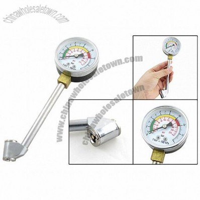 Dial Type Tire Pressure Gauge for Auto Bicycle Motorbike