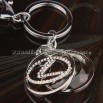 Diamond Car Keychain - Lexus Logo
