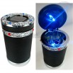 Diamond Car LED Solar Ashtray