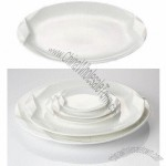 Diamond Circular Platter, Suitable for Hotel Use