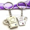 Diamond Couples Cup Keychain
