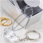 Diamond Design Key Chain Favor