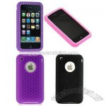 Diamond Design Silicone Skin Case for Apple iPhone 3G/ 3Gs