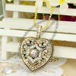 Diamond Heart Jewelry High Speed USB 2.0 USB Flash Drive Memory Disk 2GB
