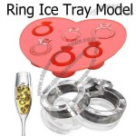 Diamond Love Ring Silicone Ice Cube Tray