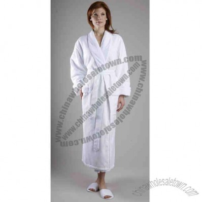 Diamond Patter Shawl Robe