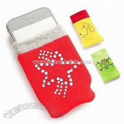 Diamond Pattern Pouch for iPhone and Mobile Phones