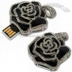 Diamond Rose USB Flash Drive