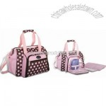 Diaper Carry Bag with Polyester Lining