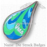 Die Struck Badge