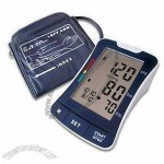 Digital Blood Pressure in Arm Type, with Date/Time Stamp and Deluxe Carry Case