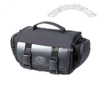 Digital Camera Bag with Multimeida Card and CD Holders