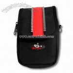 Digital Camera Bag with Zipper Closure