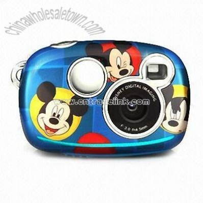Digital Camera for Kids with Disney Cartoon Characters