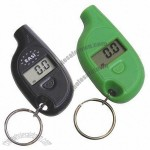 Digital Car Tire Pressure Gauge with Keychain