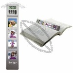 Digital Countdown Timer/Clock Bookmark with 4 Photo Frames