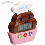 Digital Cupcake Kitchen Timer
