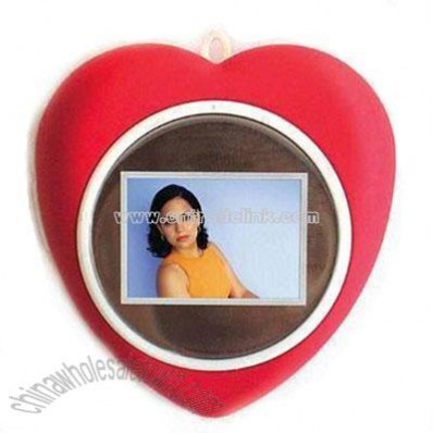 Digital Heart Photo Frame