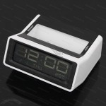 Digital LED Snooze Weather Alarm Clock LCD Table Clock