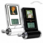Digital Photo Frame with Time and Thermometer