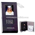 Digital Photo Frame with time