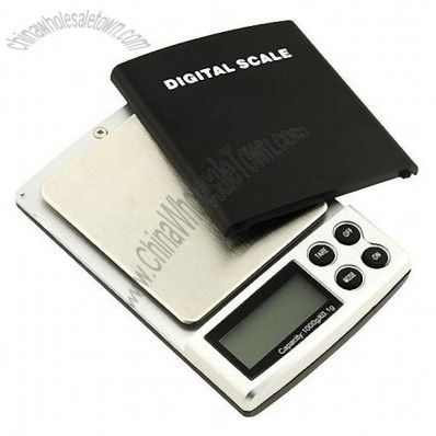 Digital Pocket Scale for Jewelry 1000g x .1g