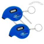 Digital Talking Tire Gauge Keychains with Auto Shut-Off