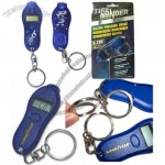 Digital Tire Pressure Gauge with Keychain and Accurate Reading