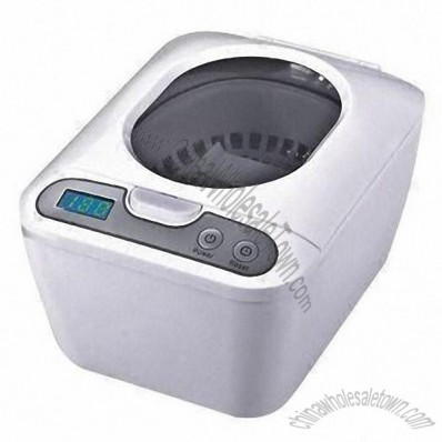 Digital Ultrasonic Cleaner with 50W Power for Cleaning Jewelry, Rings, Eyeglasseds and Razors