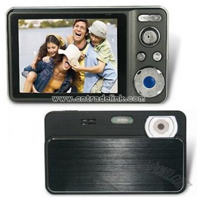 Digital Video Camera with 2.4-inch TFT Screen and LED Display