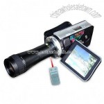 Digital Video Camera with 3.0-inch TFT LCD Color Display
