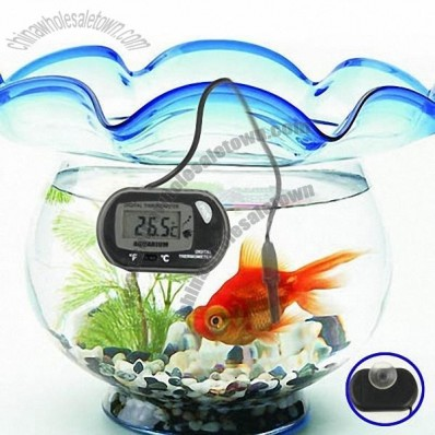 Digital Waterproof LCD Display Aquarium Thermometer