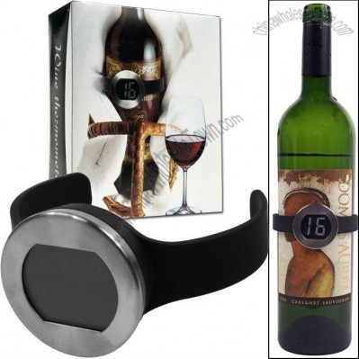 Digital Wine Thermometer Watch